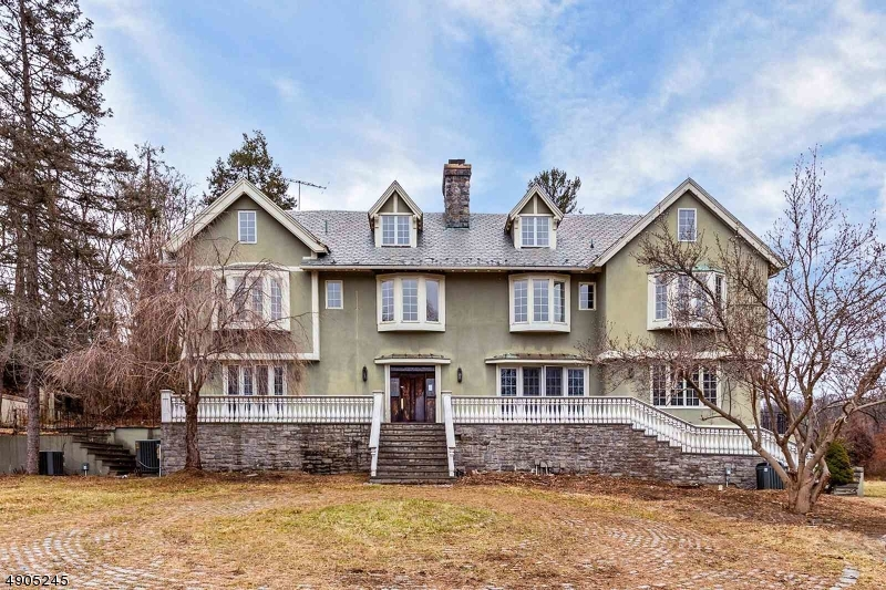 Charolais Farm's original 1895 English Manor, 7bedroom Old world charm .Renovated in 2008 Large Kitchen, custom inlay Hardwood Floors , Ornate Fireplaces throughout , Finished Basement w/ Pub Room & Kitchen on a 5 acre lot Stream running through property w/ small bridge, Circular driveway to grand entrance,  Library with original hardwood paneling , Attached 3 car Garage , Detailed moldings throughout, Master Suite w/ Jetted tub overlooking outdoor in-ground pool, custom built walk in Safe to store your valueables,  Also Included with House #180 former carriage house on its own 5 acres.perfect as an inlaw suite or guest house 6BR septic w/ detached garage. / this property has potential for Farm assessment thru the state of NJ