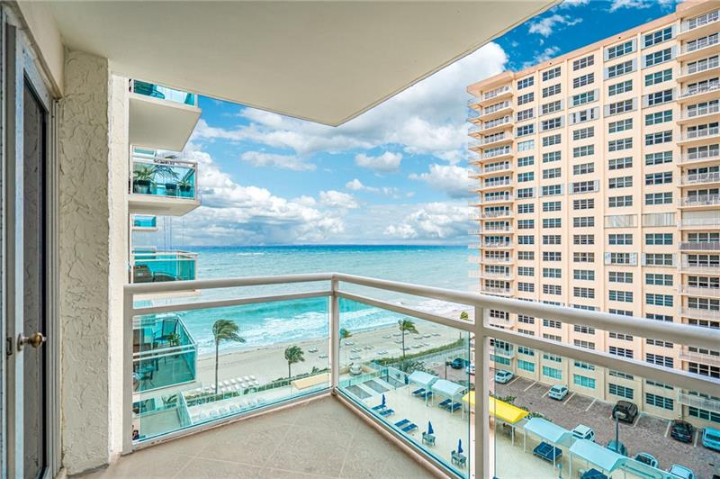 .PLAYA DEL MAR is a luxurious 370 unit condominium High Rise located on the Galt Ocean Mile in Fort Lauderdale, Florida. Play Del Mar is located directly on the Atlantic Ocean, with over 400 feet of wide private beach. A 27-story building providing 24-hour security and Reception, indoor parking, 3 state-of-the-art fitness centers, card and Billiard's room, library, media center, and ocean lounge for private parties. Outdoor swimming pool, sun deck, promenades with endless ocean view with multiple BBQ facilities. This unit has renovated kitchen, new flooring, faces southeast with ocean views, impact windows in both bedrooms, freshly painted and has a washer/dryer, also a pet friendly building