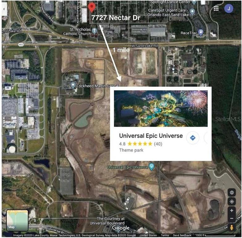 Directly across the street from the brand new Universal Studios epic theme park! Rare opportunity for a builder-ready lot. New homes selling between $200-$220 per square foot. A+++ School district southwest middle and Dr. Phillips high. Centrally located in the heart of Orlando, all attractions, theme parks, restaurants. The lot is also art of the Rosen-Tangelo Park Programs. These are multiple programs that greatly enrich the Tangelo Park community. These programs include the 2-3-4-Year-Old Program, Rosen Foundation Scholarship, Family Service Center, Parent Leadership Training Program, and Cornell University Alternative Spring Break. These programs provide Tangelo Park individuals with a valuable education and assist families in matters such as health care, counseling, and parenting skills.