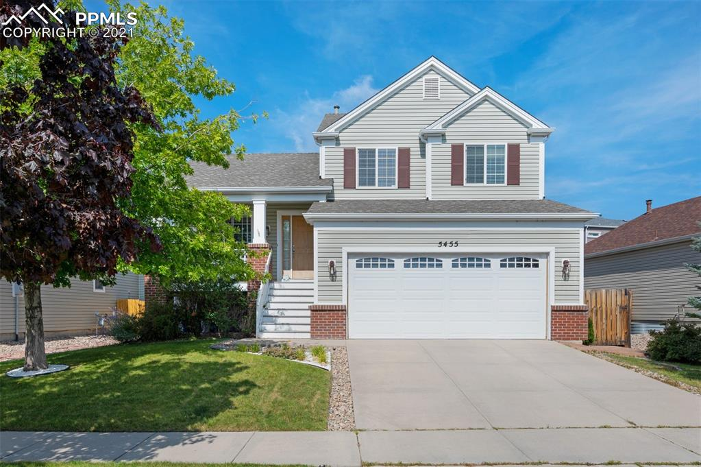 """You Can Be Home For The Holidays In This Charming Stetson Hills Property~Enjoy Morning Coffee On Your Warm And Welcoming Front Porch~Light And Bright Kitchen Is Well Appointed With 42"""" Upper Cabinets, Range Oven, Overstove Microwave, Dishwasher And Refrigerator All Included, Tons Of Cabinets And Counter Space, Plus A Pantry~Dining Nook With Bay Window Will Host All Your Holiday Get Togethers~Spacious Main Level Living Room Will Greet Your Guests When They Come To Visit~Your Lower Level Family Room Has A Cozy Fireplace That Is Perfect For Those Chilly Colorado Winter Evenings~Spacious Master Suite With Crown Molding, Top Down Bottom Up Shades, 2 Closets And Attached 4 Piece Bath~2 Additional Bedrooms And Full Bath Complete The Upper Level~Huge 24 x 16 Rec Room In The Finished Basement Provides Places And Spaces For Everyone~Crawl Space Is Perfect To Store All Your Extras~Let Your Furry Friends Run And Play In Your Fenced Back Yard~Enjoy Summer BBQs On Your 24 x 11 Patio And Keep Cool Under The Retractable Awning~Close To Shopping And Entertainment~Easy Access To Powers Corridor~Short Commute To Military Bases~See It Today!"""