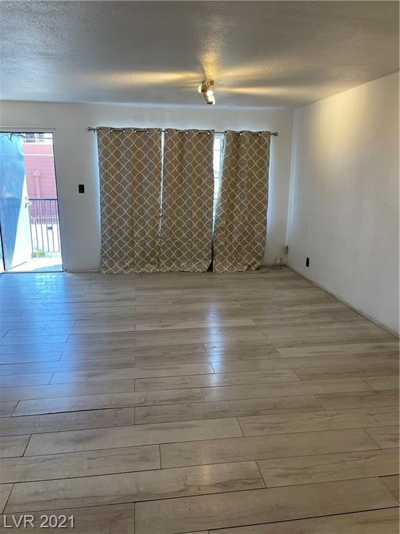 Adorable second floor condo right in the middle of Las Vegas! Amongst the heart of the town, you will find this perfect one bedroom condo equipped with everything you may need. Spacious living space, corner kitchen with stainless steal appliances, vinyl floorings for an updated feel, & 3/4 bath!