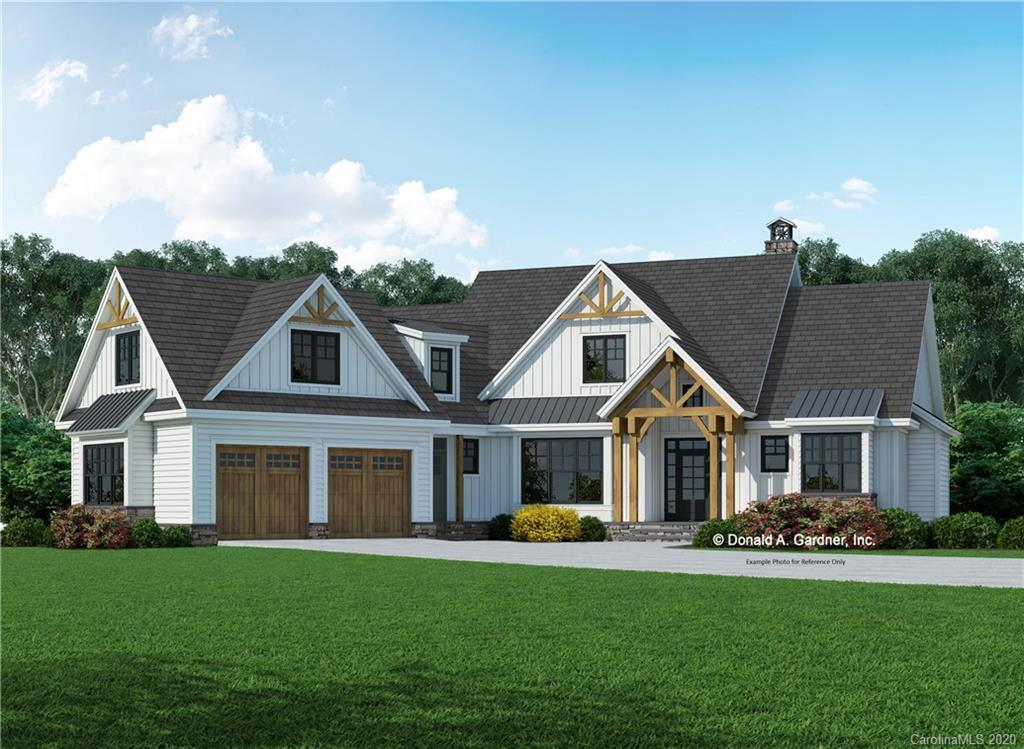 Proposed construction of a beautiful new home on lots 18 & 19, which are at the end of a quiet cul-de-sac, Home to be built on a partially finished basement foundation. This home features a mix of traditional, coffered, cathedral, and tray ceilings, on the main level, great room is open to the kitchen and dining rooms. Finished bonus room and full bathroom upstairs.  Lots 18 & 19 are being sold together as one, PIN's 9566864267 & 9566866237. Become a part of the desirable gated community, Kenmure, where you can choose to have a membership or not.  Some of the amenities include a clubhouse, fitness center, golf course, tennis court, indoor and outdoor pools.  Close to Flat Rock, Hendersonville, Asheville, and Greenville.  There is an expired Septic Permit on file.  (Also see LND MLS 3645627 for land only listing)