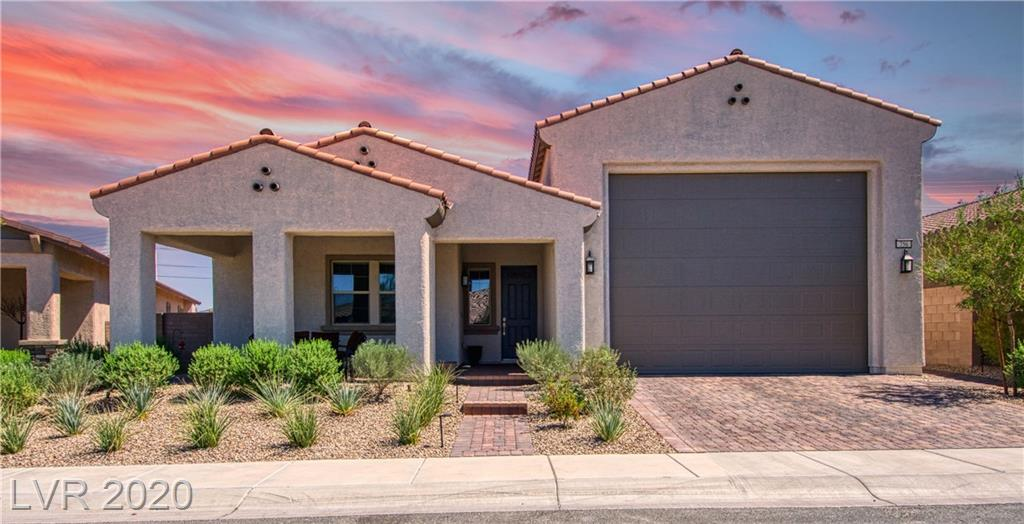 NEARLY NEW LENNAR, UPGRADED AND TURN KEY HOME!*2 EN SUITE BDRMS IN SEPARATE WINGS*4 CAR 43.5' Deep or 2 CAR+RV GARAGE+50 AMP PLUG*(1,072 SF GARAGE) *GREAT RM\KIT/FAMILY\DINING RM/WET BAR W/10 FT CEILINGS*8 FT DRS*TOP-LINE FEATURES*TRIPLE SLIDING DOOR GLASS WALL*UPGRADED TILE/CARPET FLOORING*EXTENSIVE PAVERS PORCH,DRIVEWAY,EXTEND AROUND TO BK YRD. OVERSIZED PATIO W/GAS FIREPLACE*FRONT PAVER PORCH*NO NEIGHBORS BEHIND*ALL LOCATED IN HERITAGE OF CADENCE MASTER PLAN GUARD GATED COMMUNITY* TASETEFULLY DECORATED AND NEUTRAL COLORS*DEN CAN BE A 3rd BEDROOM*CUSTOM OVERSIZED CABINETS IN GARAGE*LARGE LAUNDRY ROOM WITH SINK AND ROOM FOR EXTRA REFRIG*WATER SOFTNER*CEILING FANS THROUGHOUT*NEARLY NEW AND FULLY LANDSCAPED WITH ASTROTURF AND LOW VOLTAGE LIGHTS*MASTER BEDROOM HAS DOOR TO PATIO*