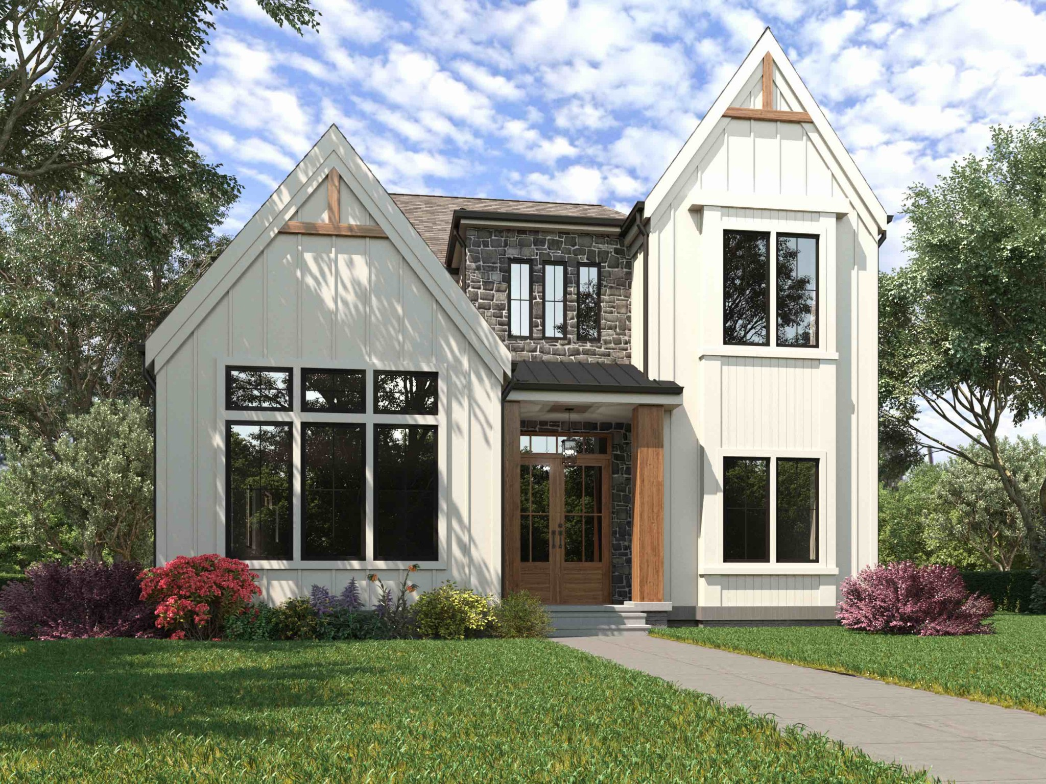 """Located on one of the most private streets in Sylvan Park. 4104 Media St features 4 bedrooms, 5 bathrooms, gourmet kitchen with 72"""" refrigerator, double ovens, gas cook top, office study, 2 car garage, huge front yard, deep lot, and a detached studio with wet bar."""