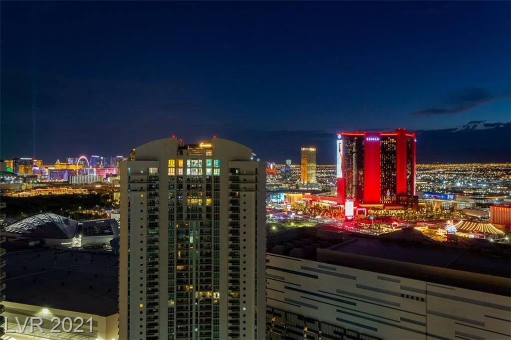 STUNNING VIEWS FROM THIS TOWER SUITE TOP TWO FLOORS (37 & 38) UNIT IS 6421 SQ FT. 2300 SQ FT IS 38TH FLOOR WITH LARGE WET BAR. ACCESS TO MASSIVE OUTSIDE DECKS WITH TILED POOL AND RAISED SPA, DOUBLE FIREPLACE. LAS VEGAS STRIP, GOLF COURSE, HIGH ROLLER, EAST AND NORTH VIEWS. A RARE SIGNATURE PROPERTY WHEN ONLY THE BEST WILL DO. SPACIOUS LIVING ROOM WITH BUILT-INS, WET BAR AND DOUBLE FIREPLACE INTO DINING ROOM. OPENED WALL INTO FAMILY ROOM. ART GLASS. LARGE ISLAND KITCHEN. HIS/HERS BATHS. SITTING ROOM OFF PRIMARY BEDROOM. LARGE WALK-IN CLOSET. 5 1/2 BATHS, 4 CAR UNDERGROUND SECURED PARKING.
