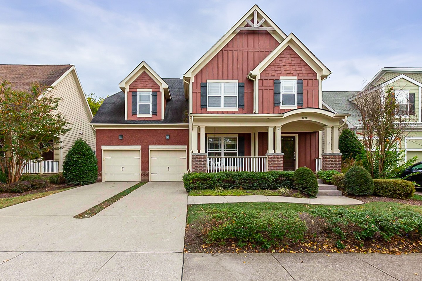 This Nolensville two-story home offers a two-car garage. This home is vacant and cleaned regularly.