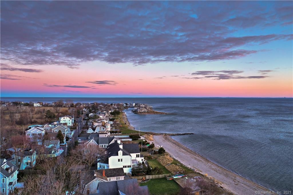 Wake up to Sunlight Shimmering on Long Island Sound! This Neighborhood is Undoubtedly one of Fairfield's Best Kept Secrets...Mere Steps to South Pine Creek Beach. A Little Slice of Cape Cod Just Over An Hour from Manhattan, this Nantucket Shingle Charmer Features Rich Hardwood Floors, Built Ins, Beadboard, Wainscotting and Recessed LED Lighting. An Eat In Kitchen (now being fully renovated!) Leads Out to the little Backyard. Two Bedrooms Upstairs & a Brand New Full Bath. Short Bike Ride to Tennis Courts and Public Golf Course....less than 5 mins to Train and Town. Live a Little...Treat Yourself to a Year 'Round Vacation!