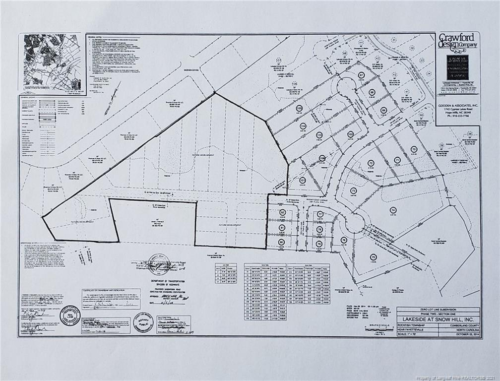 18 Lots Lakeside at Snow Hill, Fayetteville, NC 28306