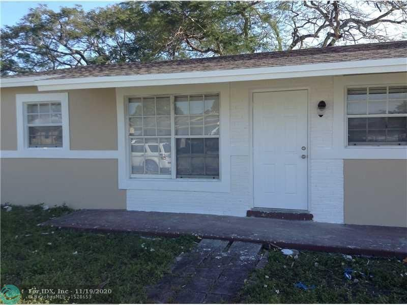 4 beds/2bath completely renovated in 2016, with plenty of lot space for a pool. What was redone/replaced in 2016: kitchen and bathroom cabinets, appliances, new ceramic tiles in the walls, new porcelain floors, new light fixtures and switches, new plumbing fixtures. New paint inside and outside. New roof. Come live in this great property or enjoy passive income. Rented for $1900 a month (market value: $2000). Showings after offer only. Please do not disturb the tenant.