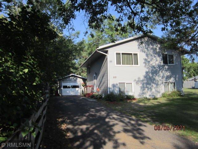 3 BR, 2 BA Split Entry with single garage and storage shed.