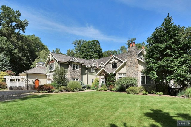 3.4 Acre Country Estate, Saddle River, NJ 07458