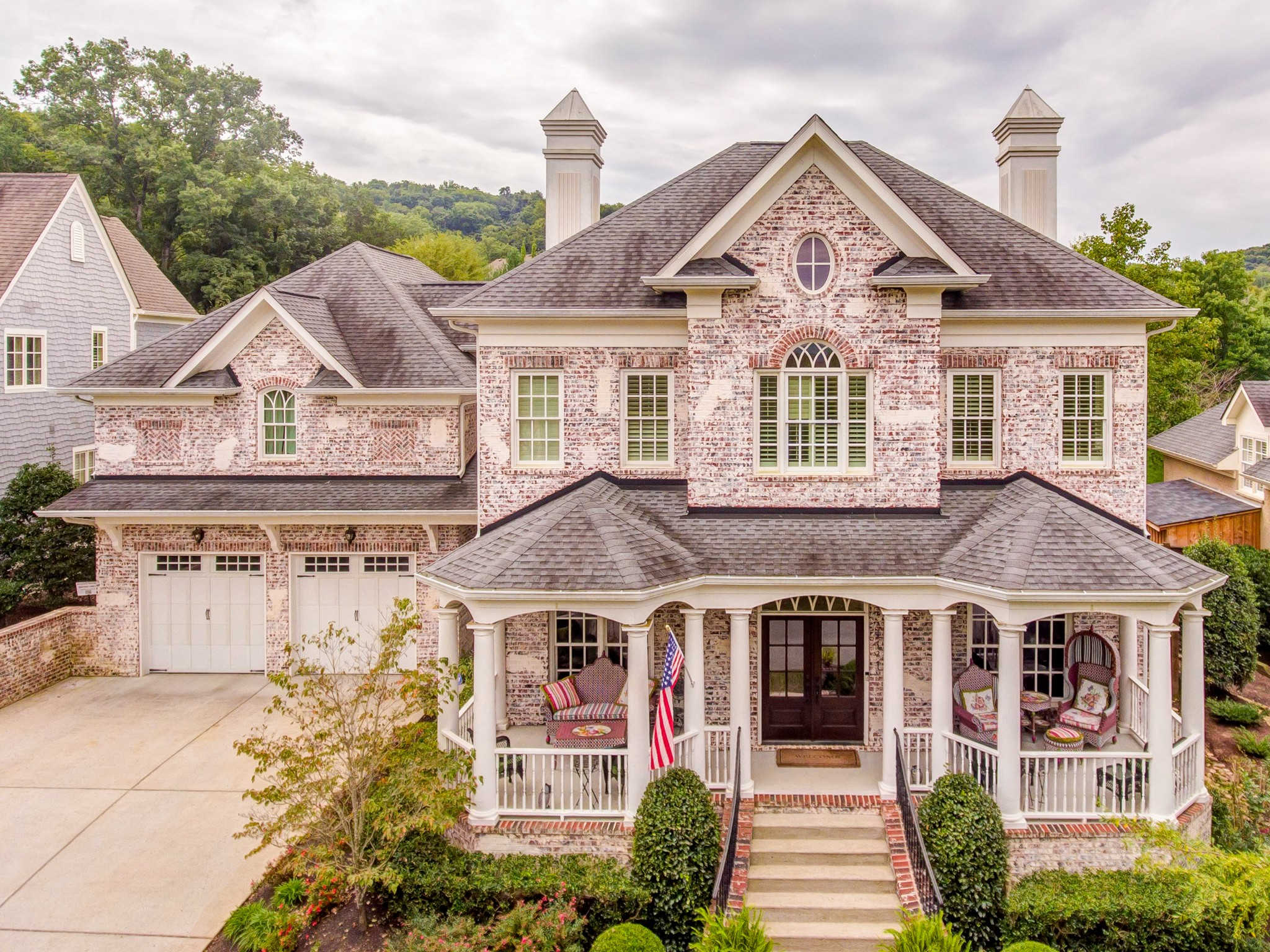 "Exquisite custom home in Westhaven w .43 acres yard. Outdoor Kitchen-Control4 System-Storm Shelter-Media Room w 110"" screen+projector-Massive Kitchen w sub zero fridge,G-mono stove, ice maker,custom finishes-2 wet bars-Spa like Master Bath-2 main level BR"