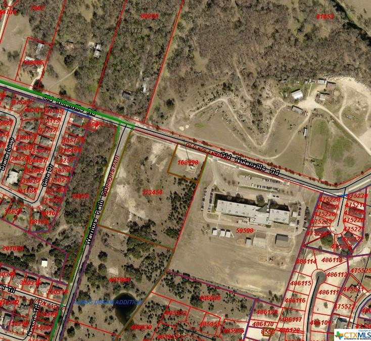 This is a great commercial or mixed use development property. The area offers a great housing area to the east, but low taxes in the City of Nolanville.