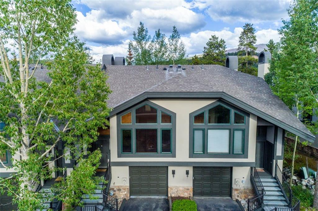 Defining convenience, comfort, & a great investment property. Steps from the Riverwalk Center & Peak 9 skiing, in the heart of Breckenridge. Perfect for entertaining in the massive great room with huge vaulted ceilings, large gas rock fireplace, open kitchen & private hot tub; additional hot tubs & pool at the Upper Village. Privacy included with all en-suite bedrooms. Private garage; complimentary on-call shuttle to your favorite restaurants & shopping in Breckenridge.  Discover Living Local!