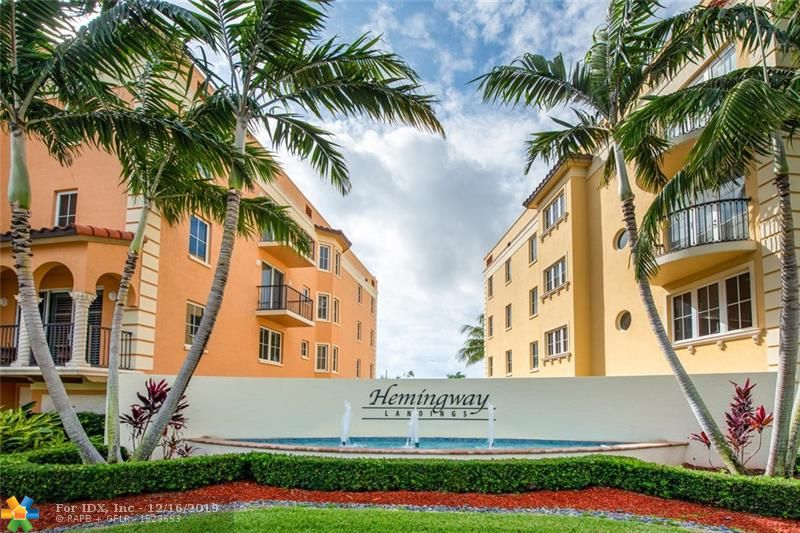 With no fixed bridges to the ocean and in Fort Lauderdale's Rio Vista neighborhood, this luxury condo includes a 36 foot boat slip directly off the intracoastal affording boaters fast access to the ocean. With the greatest water view in the entire complex, don't let the fact this 2120 square foot condo has only2 bedrooms fool you. It is larger than the 3 bedroom units located in this boutique building with a unique layout that defies convention. Recently renovated, this condo features breathtaking porcelain floors, custom lighting, a stunning chef's kitchen with Viking appliances, upscale bathrooms and a master suite to die for. Other features include abundant closet/storage space, 2 garage parking spaces, heated pool and spa, bike and water sports storage capped with stunning landscaping.
