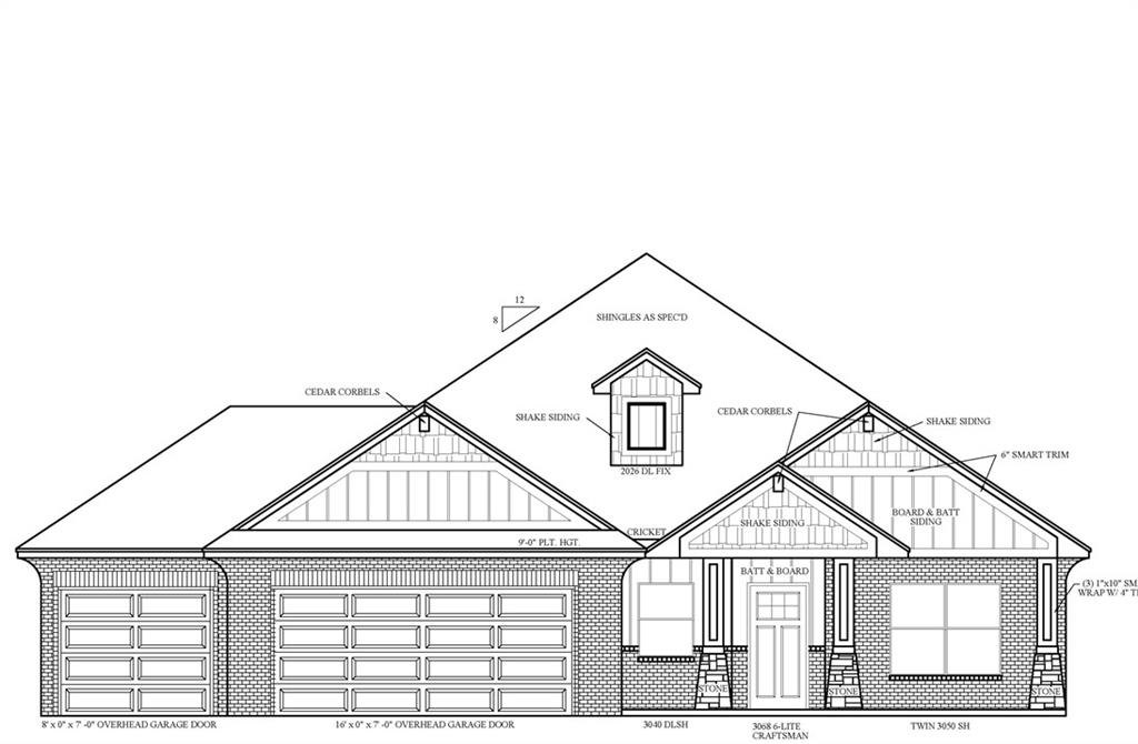 Stunning new construction home built by an award-winning, Professional Certified Builder scheduled to be completed in February 2021.   The Woods plan is popular for its open concept living area with upgraded flooring and filled with natural light. Kitchen features custom built maple cabinets, stainless steel appliances including double ovens, quartz countertops, pendant lights and a spacious pantry. Master bath includes a jetted tub and an elegant fully tiled frameless glass shower. The spacious secondary bedrooms feature large closets for all your storage needs!   This home comes with a TRANSFERABLE 10-year structural warranty and Lo E Windows, aloong with many other energy saving finishes!