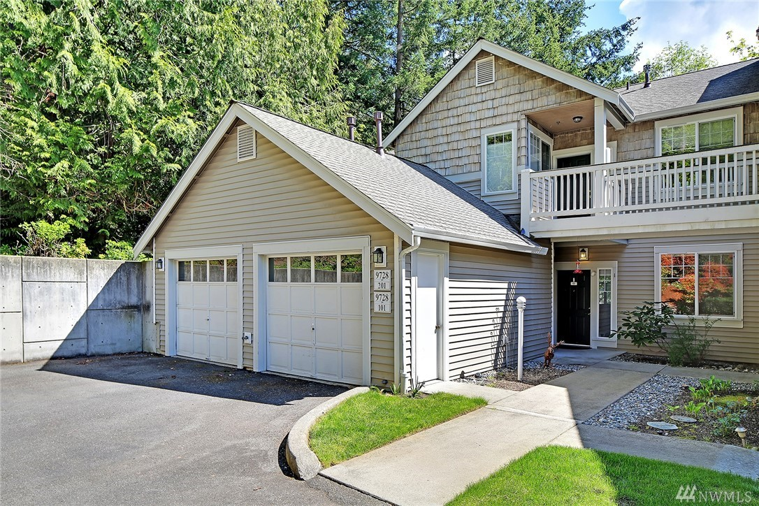 Welcome Home! You'll love the quiet location of this rare 3 bedroom 1-level home situated at the end of a cul de sac & bordering the lush greenbelt. Enjoy coming home after a long day & enter the quiet retreat of your home w/windows looking out to the trees & greenery. With 3 spacious bedrooms including master suite, 2 full baths & 1255 sqft , updated kitchen, gas heating, dining room & spacious living room this home is very comfortable & has plenty of space. 1 car garage plus parking in front.