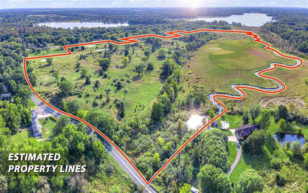 Calling all builders, for this great opportunity, to build the next subdivision in Grass Lake township. It is located 25 minutes from Ann Arbor and Jackson. This property was a former golf course and offers mature trees, ponds, a stream to Wolf lake all on a rolling terrain. This would be ideal for walk-outs or view-outs! All utilities on site. Lake access via the creek with miles of trails and blackberries. Previous subdivision plan flyer available.  Property previously sold for 1 million in 2005. This property could also be the perfect setting for a single family home with plenty of land to enjoy!