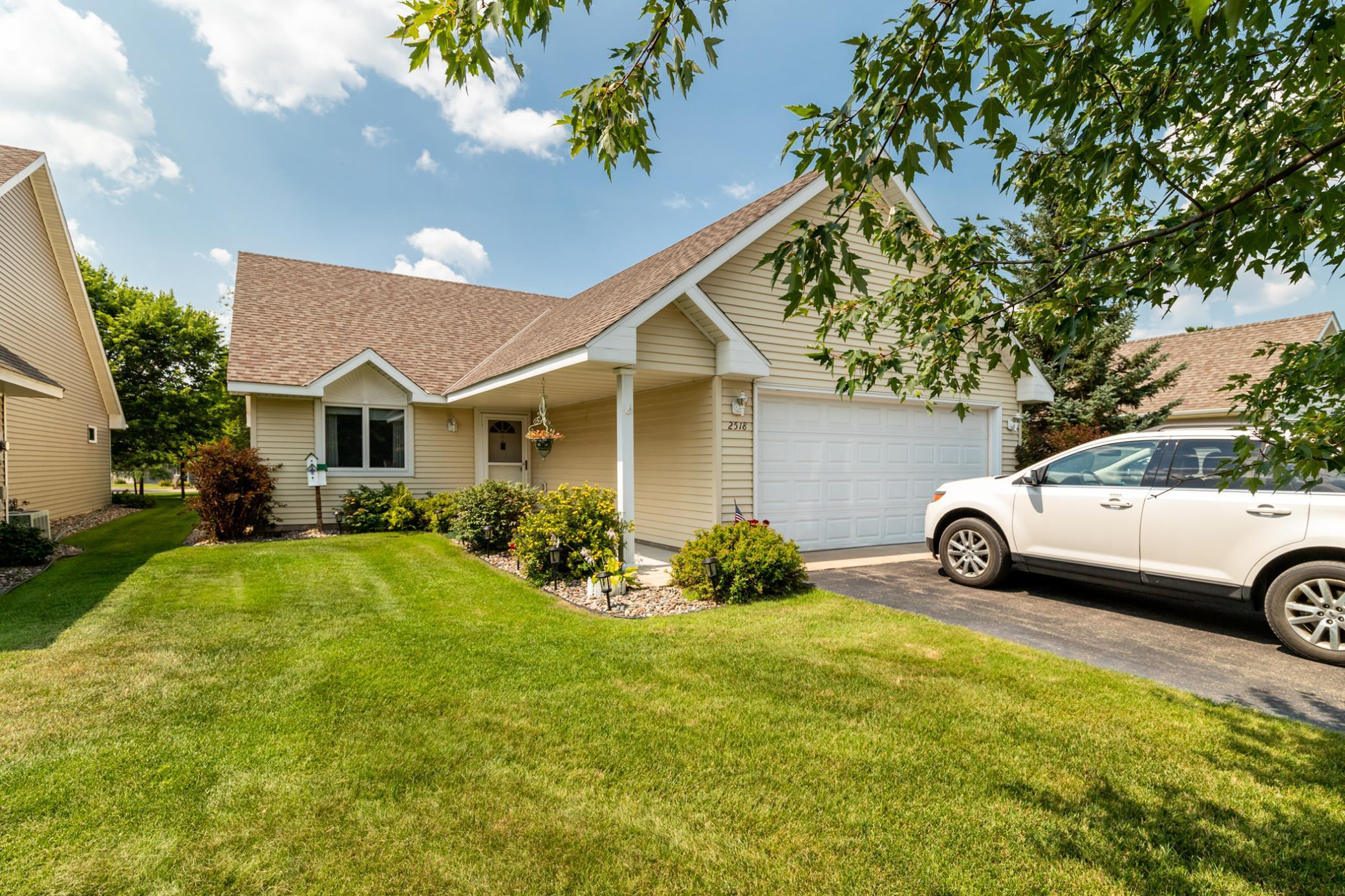 If main level, maintenance-free living is what your looking for, here it is! This 2 bed/2bath home features open floor plan, sunroom, outdoor patio, walking trails throughout the development, attached garage and more! You won't want to miss this one!