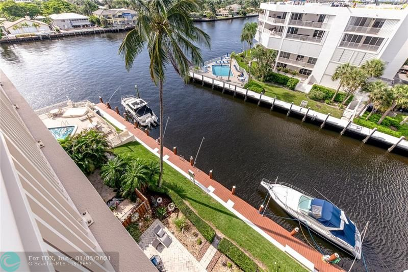 Welcome home to your waterfront, south facing condo in the sky!  Amazing views of the ocean, Intracoastal and downtown Fort Lauderdale for miles! Imagine the sunrises and sunsets you will enjoy from the outside patio! Bright, airy and open this unit has been renovated with the finest of everything. The chef's kitchen features JennAir, Subzero, a wine cooler  and extra counter space with an abundance of cabinets/storage. All windows and doors are impact. There are 2 split master bedrooms with large walk in closets. Both bathrooms feature whirlpool tubs. Enjoy the resort lifestyle at this unique, well maintained condo community on the water. The private pool, bbq area and fitness center complete the complex. You can bring your boat too! Dock fee applies. 2nd parking spot $35,000