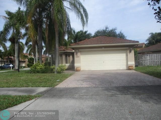 Desirable Community of Banyan Trails in Coconut Creek! Spacious 3 bed, 2 bath home with a 2-cg on a corner lot. Property needs drywall repairs and kitchen cabinets but the rest is well maintained. Large yard with plenty of room for a pool, With a little TLC this property can be a great investment or your buyer's dream home. Being sold AS IS. Buyer solely responsible to verify HOA fees, rules, etc. and of any violations. It's encouraged all offers include POF or Pre-approval letter, if financed. Agent must sign fee acknowledgment. This property may qualify for Seller Financing (Vendee).