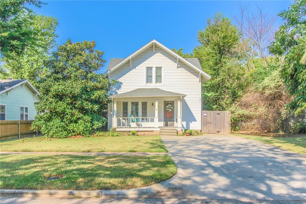 This home is close to the University of Oklahoma, Three Bedrooms, 1.5 baths, 2 Living Areas, basement with hook-ups for washer and dryer, Wooden patio/deck.  This is one-of-a-kind.