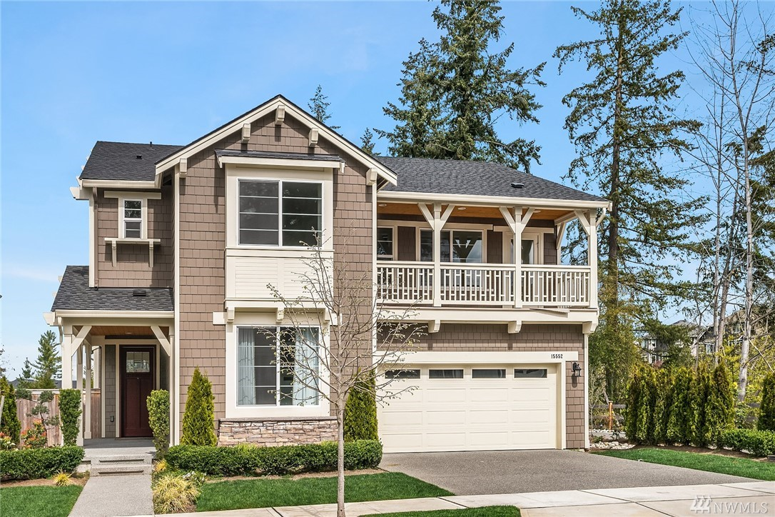 Welcome to Crestview! This stunning 5 bedroom home is conveniently located minutes from DT Redmond & Woodinville wine country. When you're not out enjoying everything this great location has to offer, entertain in your gourmet kitchen equipped with HUGE island, SS appliances and hardwood floors throughout main level. Check out the vast master suite! Bedroom and full bath on main level perfect for visits from overnight or extended stay guests. Fully fenced backyard for summer BBQ's & outdoor fun!