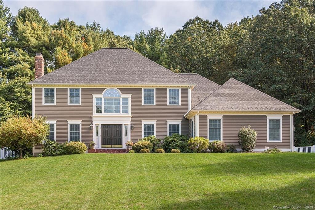 Don't miss out on 2 HALLVIEW DRIVE!  This gorgeous home has had a fresh makeover and is ready for it's new owners.  This 1994 Colonial is a beauty in a rarely available neighborhood, and provides you with everything on your wish list.  4000+ square feet, 4 beds, 3 full & 2 half baths, 2 fireplaces, central air, 3 car garage, and spacious light filled rooms will delight.  Anyone who is seeking a spacious kitchen with quality appliances (ovens & stove top are Boch, and dishwasher is Azco) don't have to look further.   Many custom details are found throughout.  The private back yard will satisfy all your entertaining plans or is your tranquil setting to relax and enjoy nature.  Recently updated; mechanicals, roof, and back deck.  This home is surrounded by beautiful rural backdrops and nearby is the Farmington River, charming downtown Simsbury, and a host of great dining and recreational opportunities.