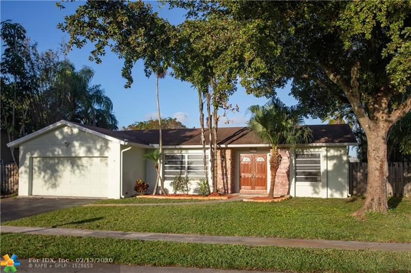 Welcome Home to 8743 SW 50 Place in the Established Timberlake Community in Cooper City. Situated on a Cul-De-Sac, this 3 Bedroom 2 Bath 2 Car Garage Pool home is Absolutely Incredible, This spacious Home features an open layout, All Bedroom have Wood Laminate flooring. The Charming Kitchen includes al Stainless Steel Appliances and has access to a 10' outdoor Counter top in the Screened in Lanai with New Stamped Concrete floor which is Great for Entertaining.  This Property has an excellent www.greatschools.org rating.  Set Up Your Showing Today.