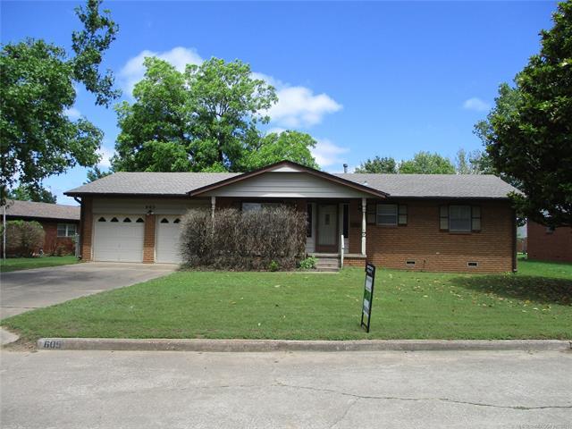605 W Cherry Street, Drumright, OK 74030