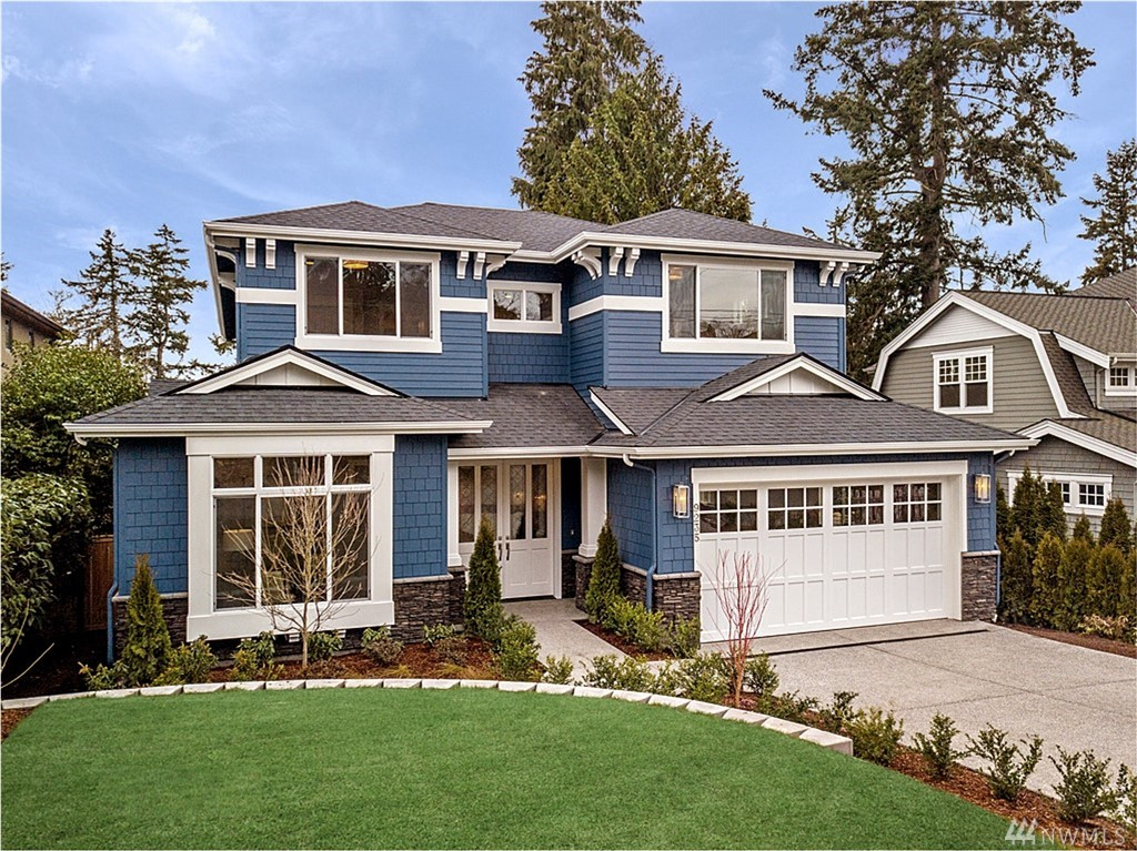 John Buchan Homes inspires elevated living with this beautiful new home on a quiet street in W. Bellevue's sought-after Lochleven neighborhood. Purposefully designed spaces for how you live everyday: room to connect, work, gather, entertain. Just 2 blocks to the beach, restaurants + shopping in the heart of downtown. Enjoy partial lake views, smart home features & true artistry. Buchan believes home should be a source of confidence & security so you can focus on what's most important in life.
