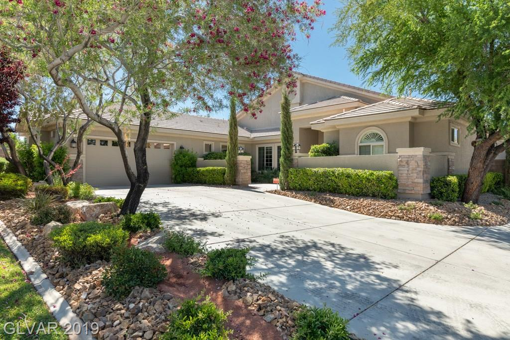 Tastefully designed semi-custom single story on a culdesac in gated community; rare RV parking, additional 800 sf for possible casita, office, game room, shop, extra parking or storage; large kitchen w/granite, stainless steel appliances; tile, wood floors, shutters and wood blinds; master suite with retreat area; his/hers walkin closets; courtyard; 10x200 ft dog run; 16,000sf lot w/ covered patio and large backyard for relaxing and entertaining.