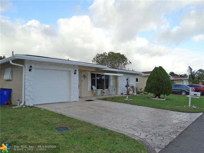 Amazing single-family home in Cristal Lake! Tile & ceramic floor throughout with 3-Bedroom, 2-Full Bathrooms, and a multiuse room, can be an office or utility. Impact windows and tank-less water heater. Attached Garage with automatic door opener. Split bedroom plan. New condition Kitchen with all appliances. All ages welcome. Pet Welcomes and all types of financing. Low HOA dues include Cable and much more. Clubhouse and Amenities included. Private and quiet community. Roof, A/C and Water Heater in perfect condition.  A must-see property!