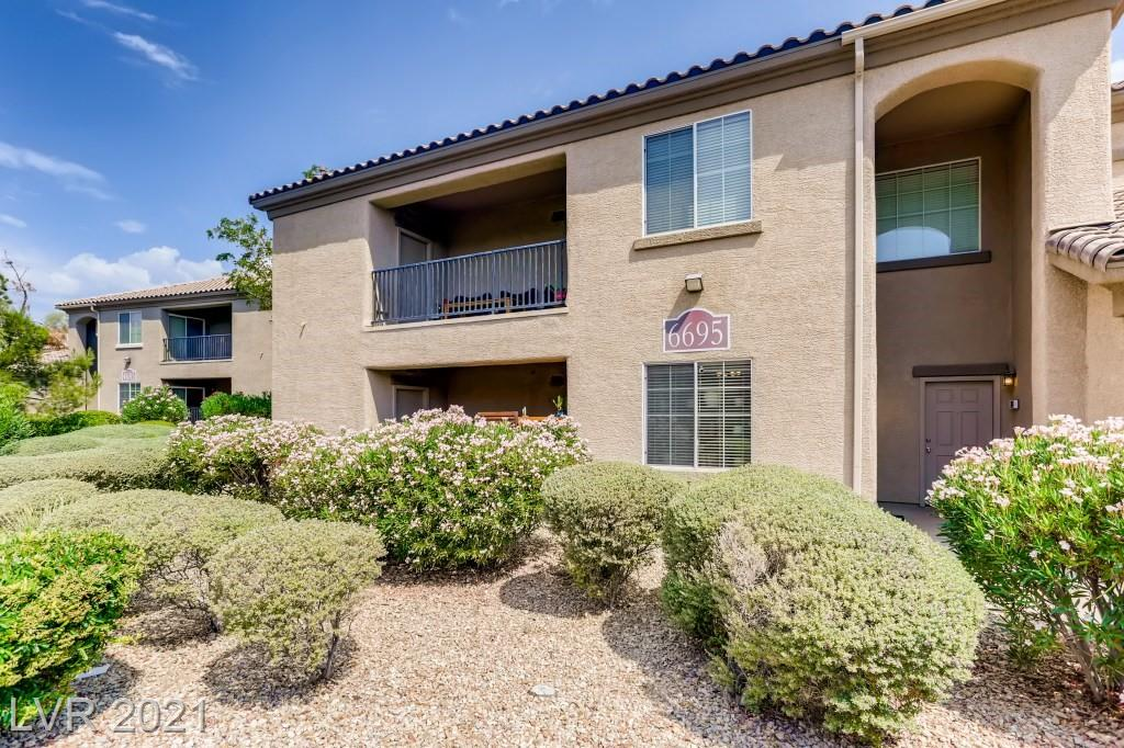 Lovely 2 Bedroom 2 Bath Condo on Ground Floor. 2 Car attached Garage with direst access to unit. All Appliances Included