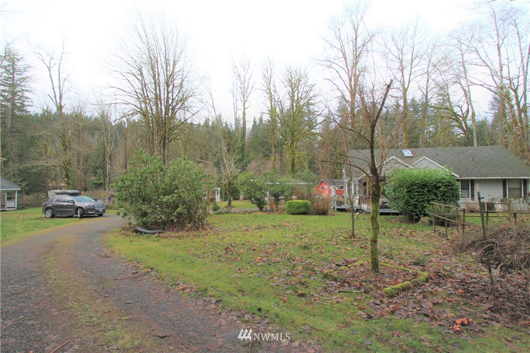 """Diamond in the rough on 1/2 an acre plus, on Boxley Creek. Plenty of potential to make it into the home of your dreams with a circular drive way. Playhouse and gazebo included.  Sold in """"as is"""" condition."""