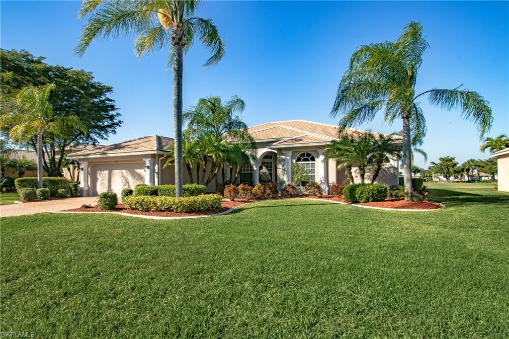 ELEGANT UPSCALE HOME WITH A BEAUTIFUL SCREENED IN IN-GROUND SPA AND EXTENDED LANAI OVERLOOKING THE GOLF COURSE AND LAKE IN THE PRESTIGIOUS HERITAGE PALMS GOLF AND COUNTRY CLUB. THE KITCHEN IS EVERY CHEF'S DREAM WITH GRANITE COUNTER-TOPS, GORGEOUS CABINETS, A BREAKFAST BAR AND STAINLESS STEEL APPLIANCES. THE KITCHEN OPENS TO THE BREAKFAST NOOK AND LARGE FAMILY ROOM. THE DRAMATIC FOYER OPENS TO A LARGE DINING ROOM & FORMAL LIVING AREA. THE MASTER BEDROOM IS SPECTACULAR WITH AN AMAZING MASTER BATH AND HUGE WALK-IN CLOSETS. THIS HOME OFFERS LARGE SECONDARY BEDROOMS AS WELL AS A SPACIOUS INSIDE LAUNDRY ROOM AND SO MUCH MORE.