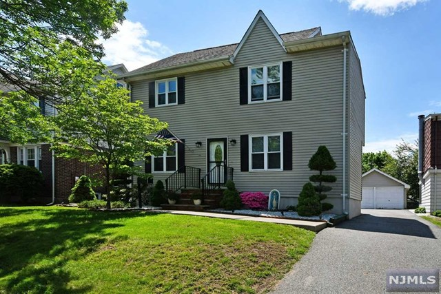 Immaculate, updated & move-in ready colonial, in prime Memorial Section of desirable Maywood! Approximately 2,000 sq ft of total living space w/finished bsmt! 3 (possibly 4) BRs & 2.5 bathrms, with open layout on 1st flr w/liv rm w/fireplace, formal Dining Rm, & into the updated & expanded eat-in kitchen w/granite counters, SS appliances, & SGD to the backyard! 3 BRs on 2nd flr, incl King Size MBR w/double closet PLUS a Walk-In Closet! Updated hall bathrm w/jacuzzi! Walk up to finished 3rd flr - great play rm/office or possible 4th BR! Nice finished bsmt for Den/rec rm/Play Rm & Beautiful 2nd Full Bathrm! Also laundry rm & storage! All this & central AC, Tankless Water Heater, private backyard 2/deck & the rare & coveted 2 Car Garage!!! All on a prime street just blocks from Maywoods downtown, NYC bus, Whole Foods & Target & more! DONT MISS!