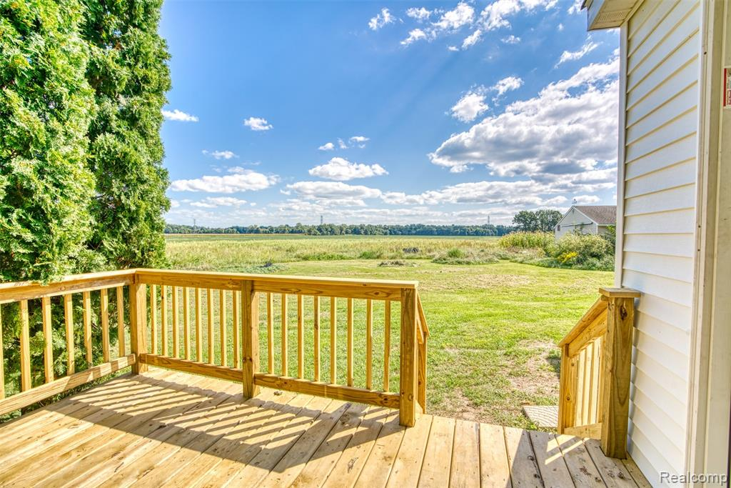 A great move-in ready home located on 5 stunning ACRES with outbuilding, privacy, and sunrise/ sunset views. There is no shortage of room to play on this 5 ACRE parcel; and no shortage of storage, with a 30' x 40' cement floor outbuilding and additional shed. Home is filled with potential and features a 2021 brand new back deck, first-floor laundry, gas range, and a 2021 bonus room waiting for your vision. The home has an updated bathroom and kitchen as well as a half-acre of established pollinator habitat vital to the production of healthy crops and offering a habitat that many wild animals rely on for food and shelter. Plenty of room for gentleman's farm, animals, activities, and for families to make memories that will last a lifetime. Ready for you to take ownership today-- No occupancy needed. Buyer's agent to verify all information.