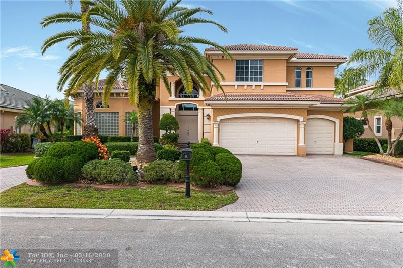 Priced to sell. Don't miss this beautifully updated largest model in THE ESTATES community at Heron Bay with 6 bedrooms, 5.5 bathrooms + office + huge loft + 3-car garage. Grand foyer entrance leads to serene lake views. Stunning marble floors. New updated kitchen with large island & 2 dishwashers. Custom wall unit in family room. Oversized screened patio. Summer kitchen with Weber grill. All updated bathrooms. Stunning master bathroom with soaker tub. Impact exterior door in master bedroom. Walk-in closets with built-in organizers. Blackout window blinds. New 4-ton A/C unit. Saltwater pool. Newer pool heater. Fenced yard. This is the perfect home to hang out with the family and for entertaining.