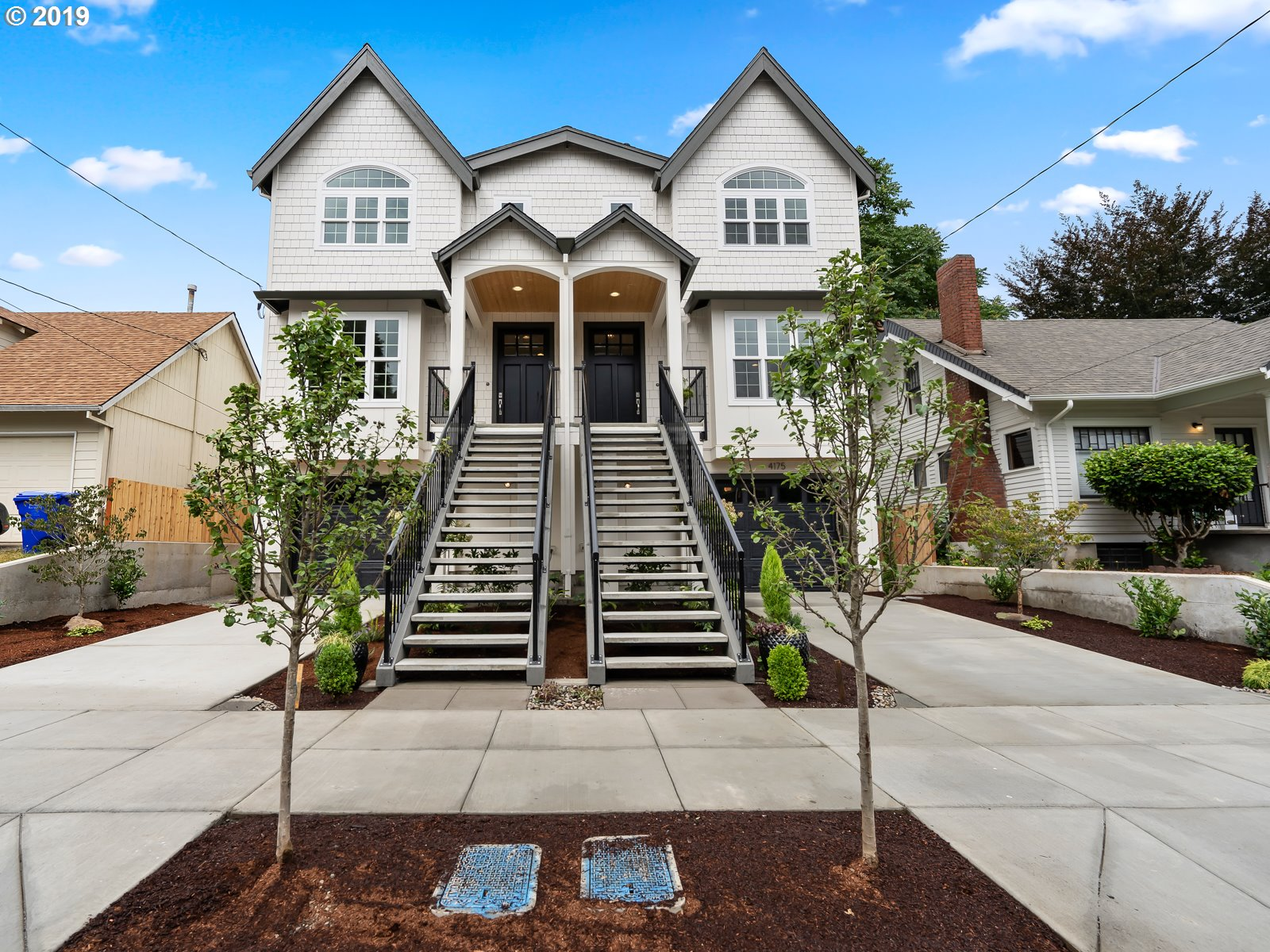 Another gorgeous home by Valhalla Custom Homes LLC. One of two condos just completed with high-end, designer finishes. Mother-in-law suite in daylight basement with separate entrance. Huge kitchen w/ covered deck & paver patio perfect for entertaining. HIGHLY sought after area, super close to many bars, restaurants and shops (2 blocks to N. Williams). Friendly, established neighborhood experiencing rapid, impressive revitalization.