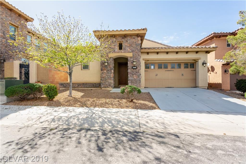 1 Story Home on Cul-De-Sac Lot in Tuscany! Open Floorplan w/ Island Kitchen w/Granite Counters, Breakfast Bar, Recessed Lighting, Pantry & Veggie Sink. Spacious Great Room w/ CF & 2-Way FP. Master Suite w/ CF, W/I Closet, Slider to Rear & Bath w/ Dual Sinks, Tub & Separate Shower. Bedroom #2 w/ Double Doors, CF & Private Bath. Separate 3rd Bedroom w/ CF. Fresh 2-Tone Paint, New Carpet, Tile Flooring, 2 AC Units, & all the amenities in Tuscany!