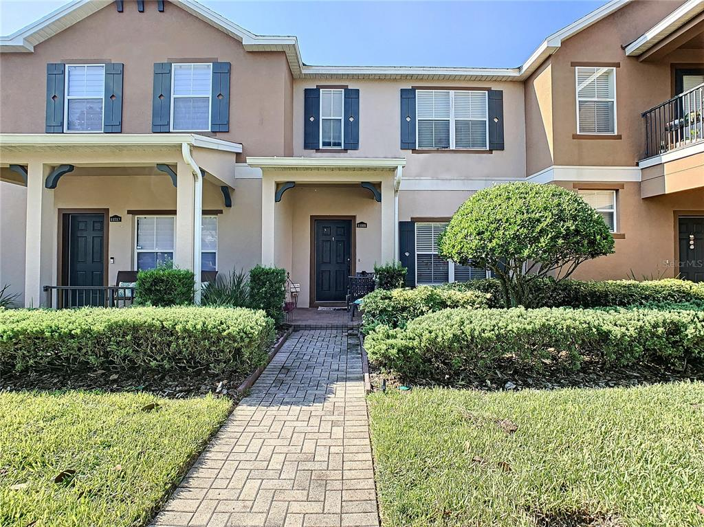 Come see this great 2 bedroom 2 1/2 bath townhome in the Lake Nona Area. This well kept home features a detached 2 car garage and private patio. Open floor plan with spacious kitchen that includes all appliances and lots of cabinets for storage. Spacious bedrooms located on 2nd floor with their own bath and walk in closets. Flooring is carpet and ceramic tile in kitchen and baths. Enclave at Moss Park offers community pool and playground in exclusive Lake Nona area. Near Burnham Institute and minutes to the new Medical City and International Airport. Schedule your private showing today!