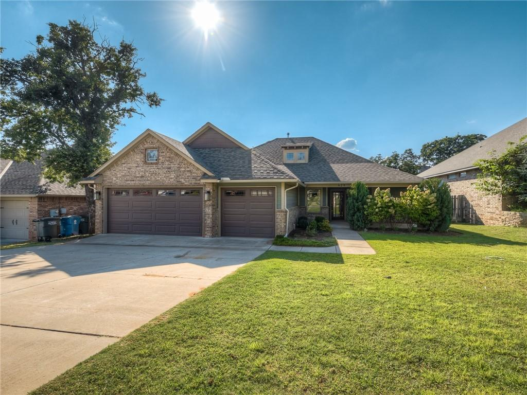 BEAUTIFUL GEM IN TUSCANY VILLA - ENTRY OPENS TO PRIVATE OFFICE W/FRENCH DOORS & LIVINGROOM W/FIREPLACE, BACKYARD ACCESS + LRG KITCHEN W/BREAKFAST BAR, GAS RANGE, DISHWASHER, MICROWAVE, LRG ISLAND, GRANITE AND TILE BACKSPLASH, TONS OF CABINETS & STORAGE + WALKIN PANTRY.  DINING AREA IS OPEN TO KITCHEN ALONG W/BREAKFAST BAR. LRG MASTER SUITE HAS DBL SINKS, LRG WALKIN SHOWER, JETTED TUB & WALKIN CLOSET W/STORAGE + ACCESS TO LRG LAUNDRY AREA OFF GARAGE ENTRY. SECONDARY BEDROOMS ON OPPOSITE SIDE OF HOME INCLUDE 2 BEDROOOMS SHARING HALL BATH W/TUB/SHOWER COMBO PLUS LARGE STORAGE CLOSET. FLOORING IS ACID WASHED CONCRETE  & BEDROOMS HAVE CARPET. BEAUTIFUL LANDSCAPING IN FRONT/BACK YARD. COMMUNITY POOL & RECREATION AREA IS JUST DOWN THE STREET. HIGHWAY ACCESS CLOSE BY AND LOTS OF RESTAURANTS AND ENTERTAINMENT CLOSE. WELCOME HOME!