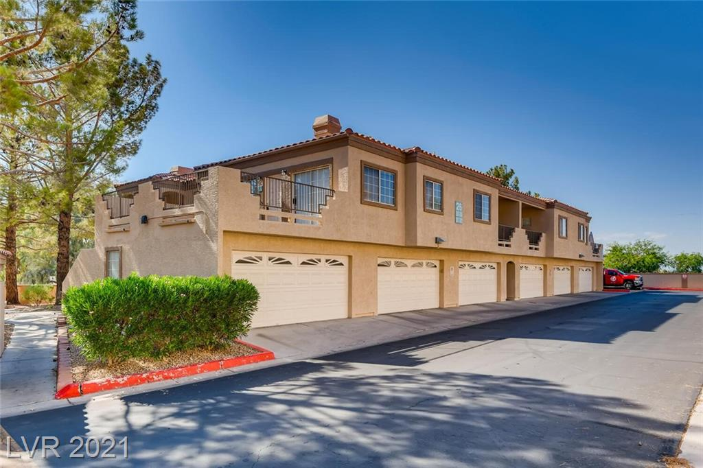 Condo in the heart of Green Valley with 2 car garage and large balcony. 2 bedroom 2 full bath. All appliances included and unit was freshly painted. Beautiful community with pool and clubhouse.  Plenty of storage and cabinet space, spacious bedrooms and ready for move in.