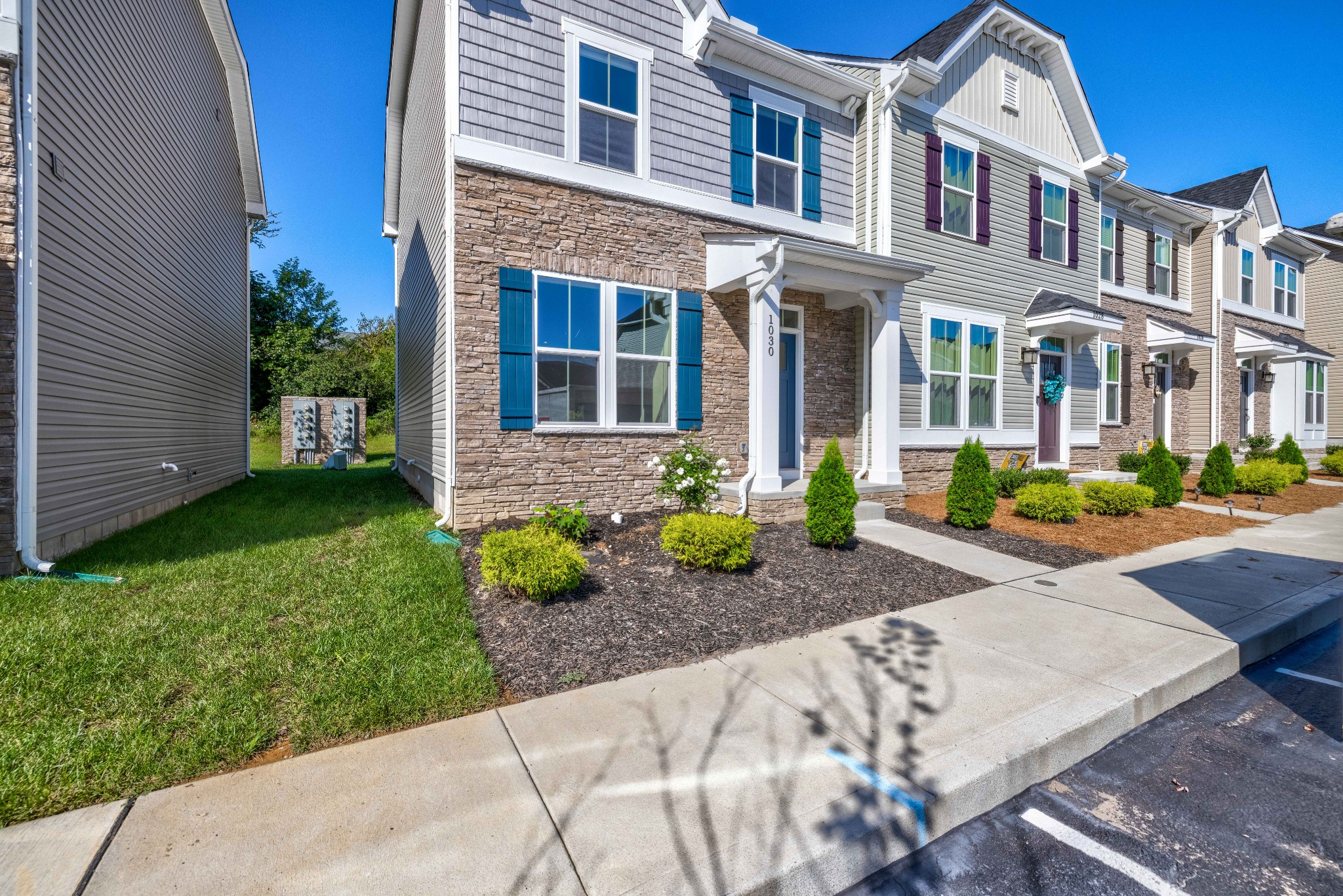 This fabulous townhome was completed in 2020! It has both of the bedrooms on the second level with a half bath on the main, perfect for guests! The home has lots of natural light, kitchen island, a breakfast nook with even more natural light, and hardwoods. There is a patio out back to relax, or take a dip in the community pool! Very convenient to Percy Priest Lake, I24, and the airport.