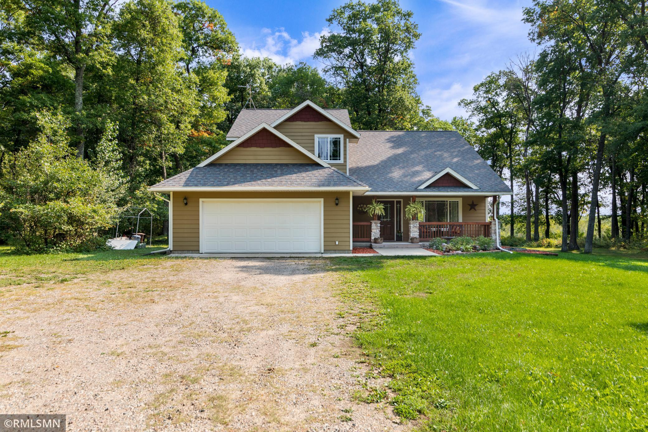 Gorgeous 6 bedroom 4 bath home on almost 3 acres. This home is on a quiet cul-de-sac in a beautiful neighborhood in Brainerd. Close to town but country living. This home features a master suite and finished basement. There is a roughed in bath on lower level and a fabulous rec room.