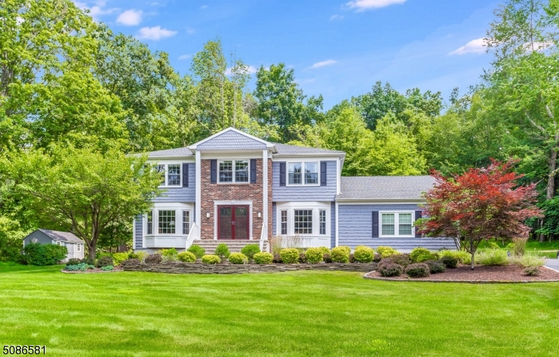 Come see this Beautifully Updated 5BDR Colonial nestled on over an Acre of tranquil parklike property on a quiet culdesac in one of Succasunna's most desirable neighborhoods.