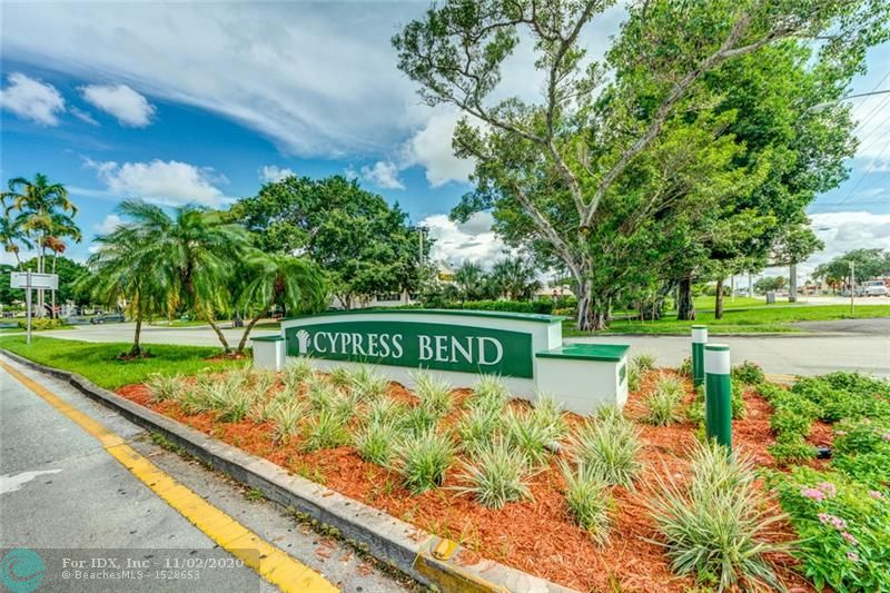 Impressive lake views in this lower penthouse unit which boasts Stainless Steel kitchen appliances, full size W/D in your own laundry room; large walk in closet in main bedroom; main bedroom has IMPACT windows and neutral colors. Cypress Bend has many amenities including a clubhouse, pool, gym, card room, tennis, walking trail, and a car washing area.  Apt was cleaned and sanitized and available for annual rental @ $1600 per month which includes water, trash, and sewer plus all Cypress Bend Amenities.  1 assigned parking spot in front of building plus guest parking.  Excellent Landlord.  Landlord requires minimum 650 credit score.  Landlord requires first, last, security, and non refundable move out cleaning fee.  Association requires tenant to pay a refundable $800 security deposit.