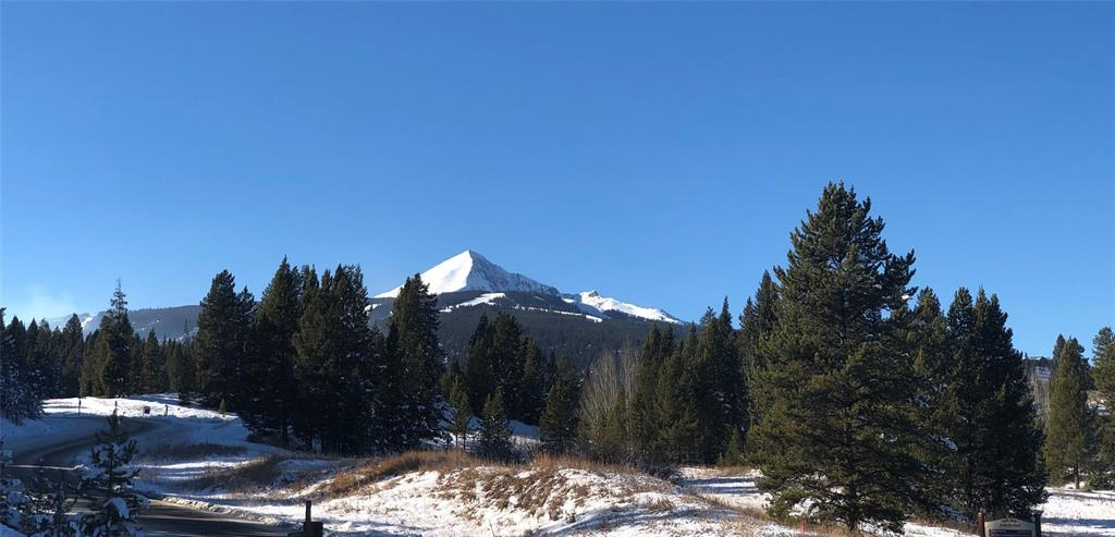 Build your home to take in the beautiful mountain views from this nicely treed corner lot.