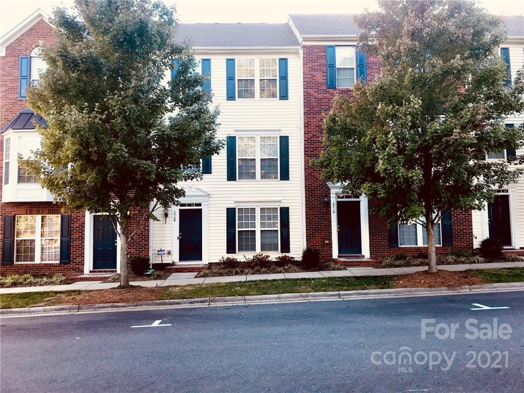 Don't miss this newly updated townhome residence, located in the highly desirable South Charlotte, Ballantyne Area. Meticulous and elaborate updates with attention to detail have been made throughout. This townhome features 3 rooms, 2 full baths, 2 half baths, living room fireplace, SS appliances, upper level rear deck with solar lighting, new door handles throughout, including updates to kitchen cabinets & new hardware installation, new recess lighting in living room, new recess lighting in master bedroom, new light fixtures in every room, new lighting in downstairs/ground level room which can be used as bedroom/office/den or more, new ceiling fan with light, new light fixture in second room upstairs, new lighting in 2nd bedroom closet, new recess light in laundry room, newly painted cabinets in upstairs bathrooms, new hardware, new fresh paint top to bottom including ceilings, doors & trim. Community pool, recreation area and location! Close to shopping, dining, mins to highway